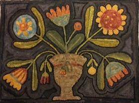 Maggie B Urn of Flowers