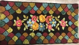 Antique Flowers, 25x38, $450