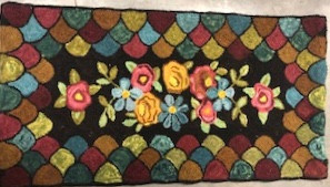 Antique Flowers, 25x38, $695