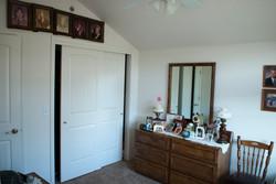 Ample closet space!