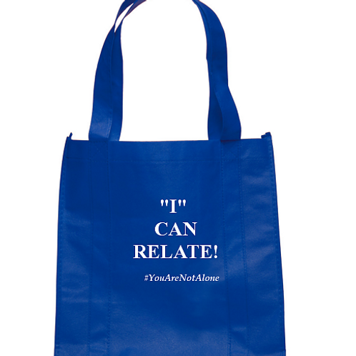 """""""I"""" Can Relate Totebag"""