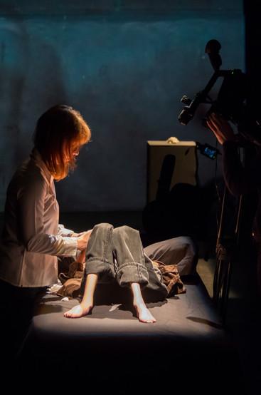 Série de Performance de Kamil Guenatri et Eva Baboulène