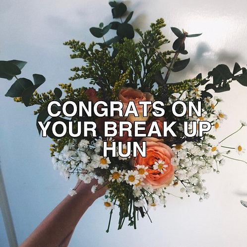 Break Up Flowers