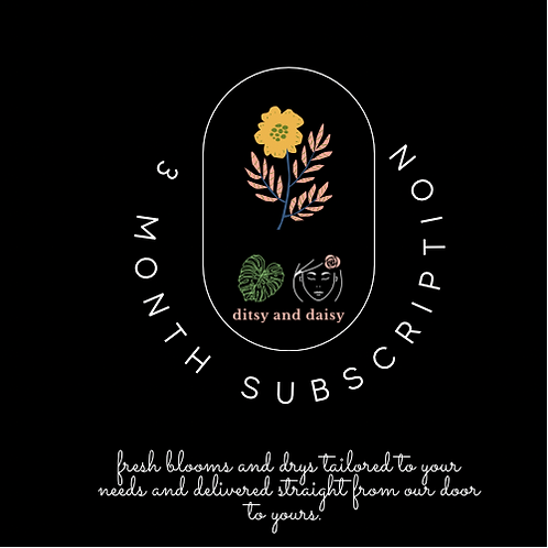 3 Month Dry Subscription