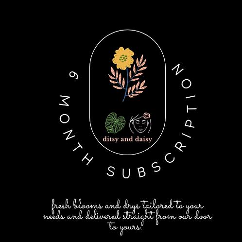 6 Month Mini Posie Subscription