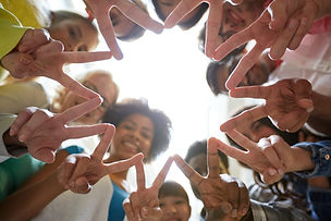 education, friendship, gesture, victory