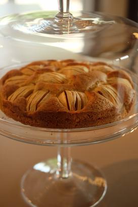 appelcake bij ontbijt