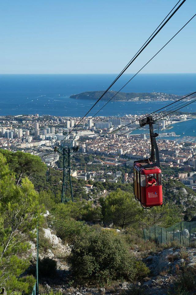 Mont-Faron in Toulon