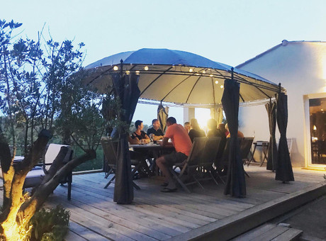 Terras: ontbijt en table d'hôtes