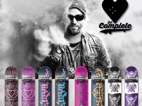 Bam Margera - The Heart Supply Holiday Drop