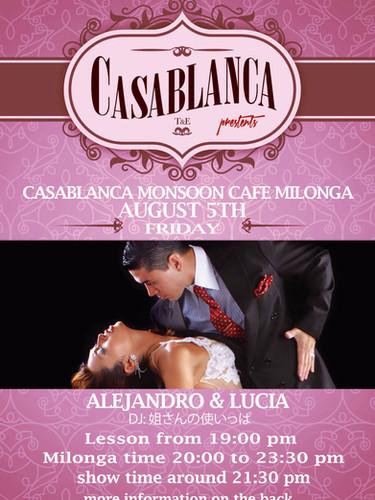 Casablanca Milonga 08.2016