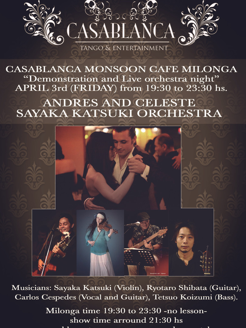 Casablanca Milonga 04.2015