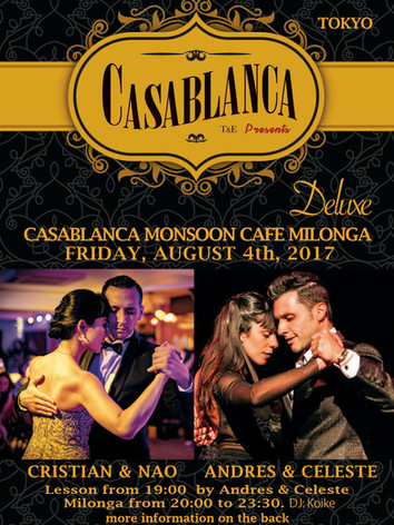 Casablanca Milonga 08.2017