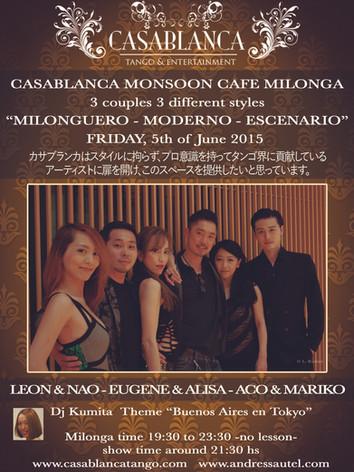 Casablanca Milonga 06.2015