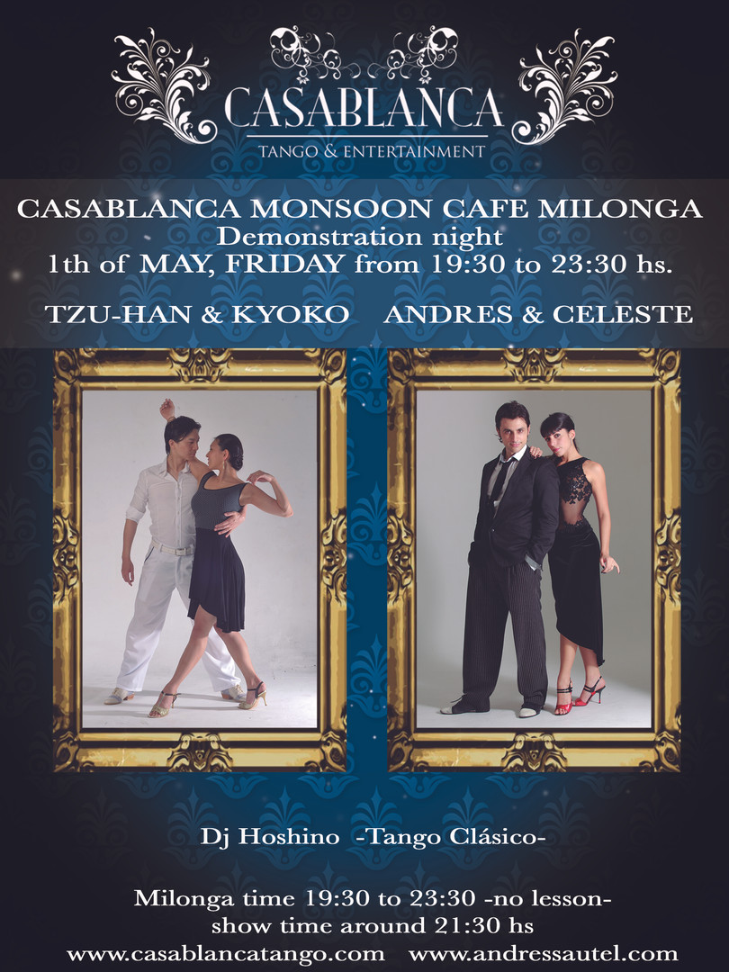Casablanca Milonga 05.2015