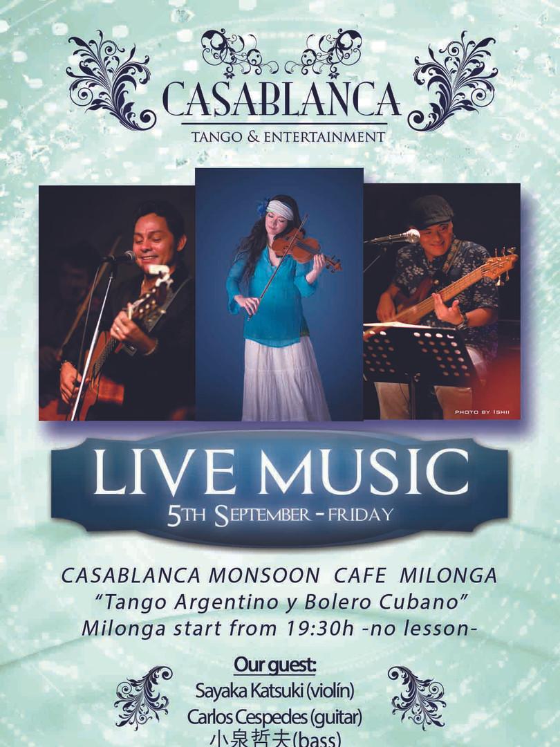 Casablanca Milonga 09.2014