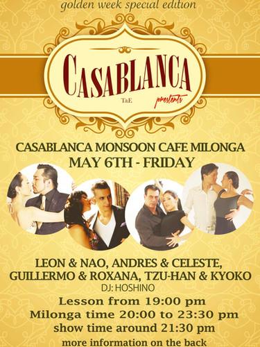 Casablanca Milonga 05.2016