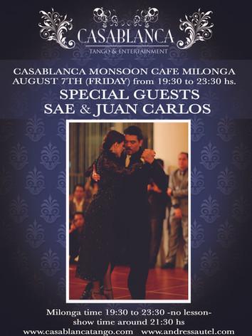 Casablanca Milonga 08.2015