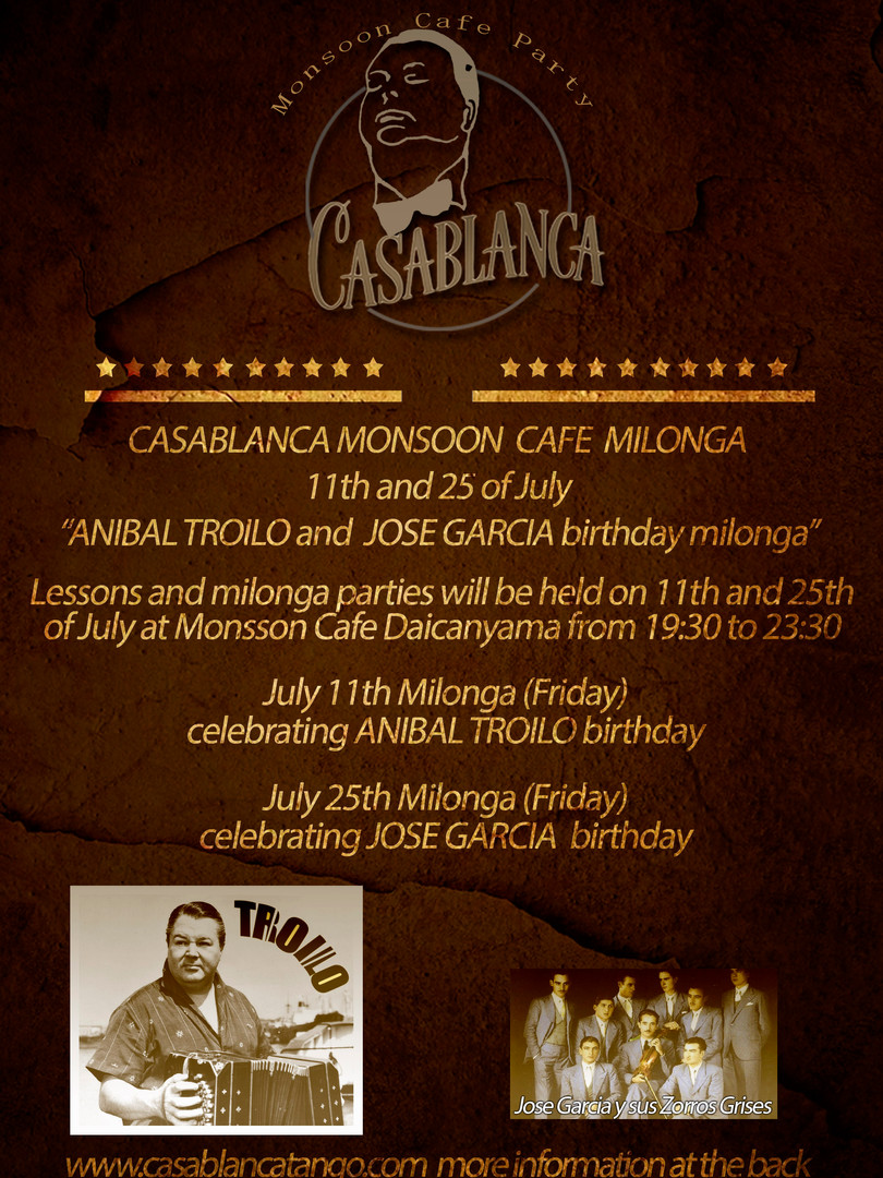 Casablanca Milonga 07.2014