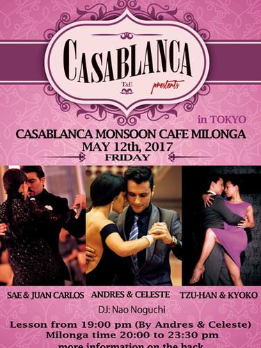 Casablanca Milonga 05.2017