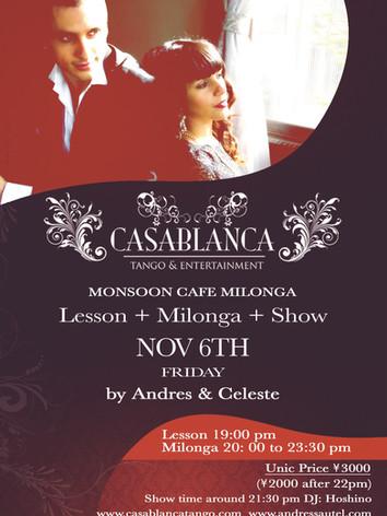 Casablanca Milonga 11.2015