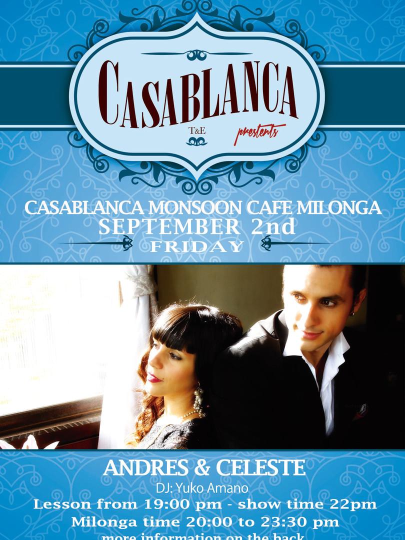 Casablanca Milonga 09.2016