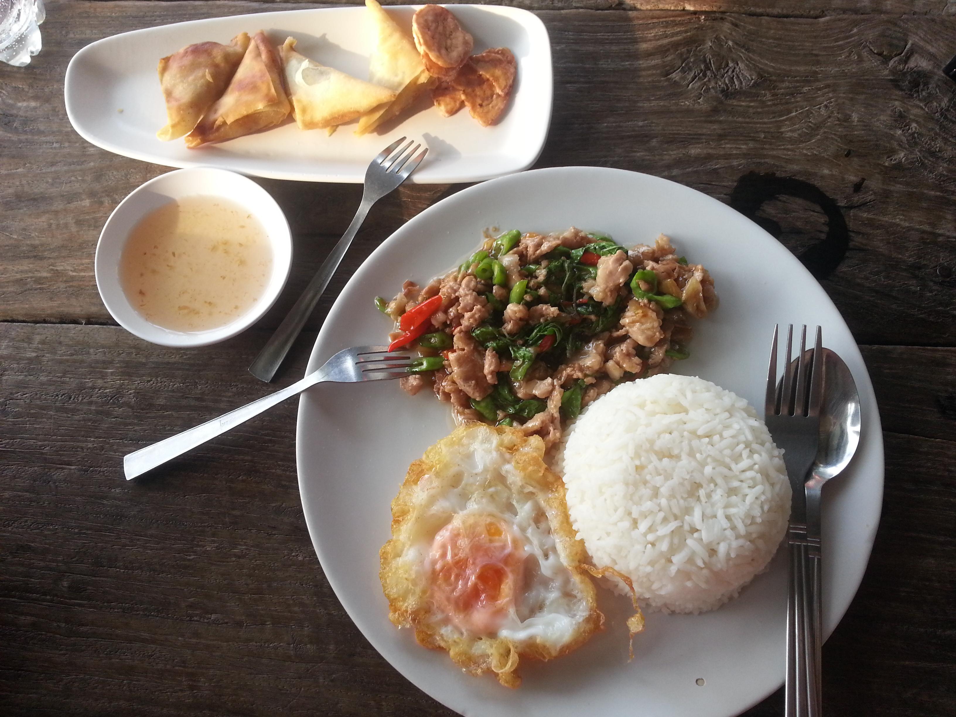 Assiette Thaïlandaise