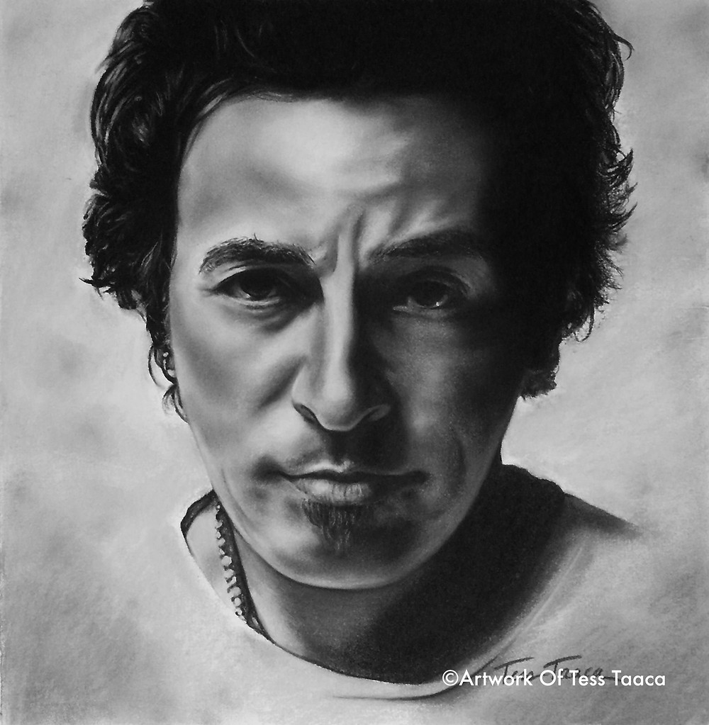 Bruce Springsteen- CHARCOAL