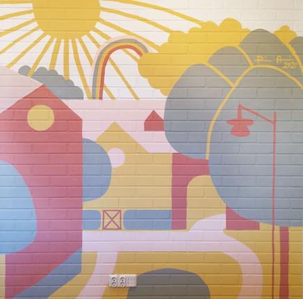 Muraali päiväkotiin