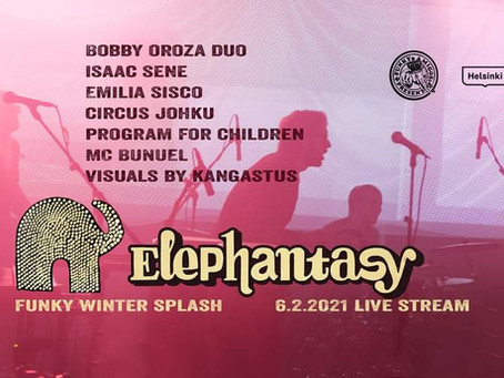 Emilia Sisco at Elephantasy - Funky Winter Splash