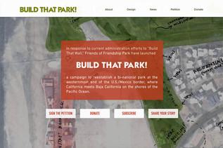 BUILD THAT PARK!
