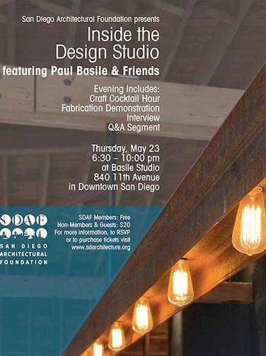 Inside the Design Studio feat. Paul Basile & Friends