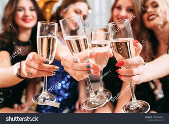stock-photo-girls-party-closeup-of-glass