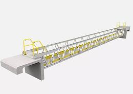 Service Footbridge for Rio Tinto Alcan