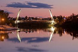 Footbridge   Riviere aux Sables
