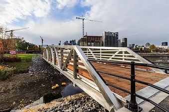 Footbridge | Hall and Wellington