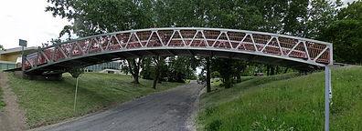 Pont piétonnier par Technomarine