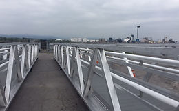 Footbridge | Port of Quebec