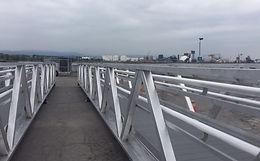 Footbridge   Port of Quebec