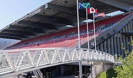 TD Place Stadium Bridge