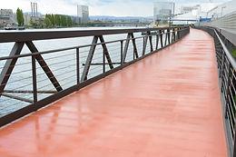 Footbridge   Huningue