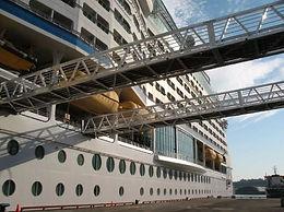 Port of Quebec Gangways