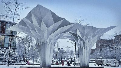 Pavillon Origami