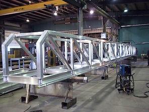 Passerelle aluminium – Nanisivik