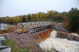 Footbridge   Amédée River