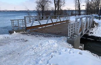 Footbridge | Nuns' Islands
