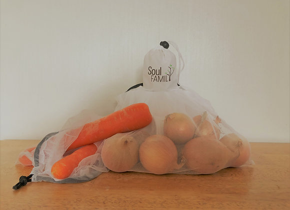5 Pack Produce Bags