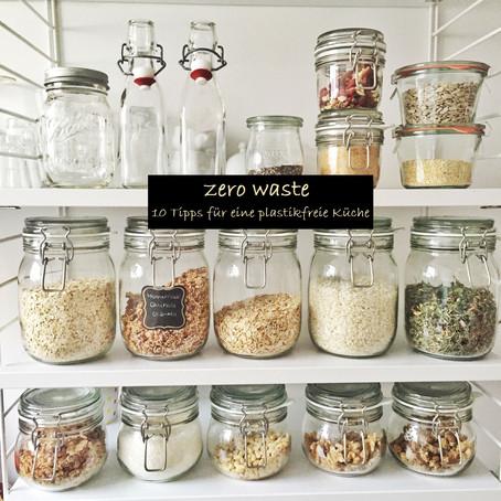 Zero Waste - 10 Tipps für eine plastikfreie Küche