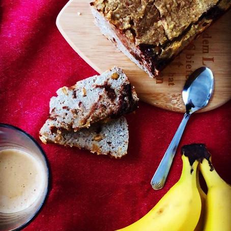 Bananenbrot Rezept (glutenfrei, laktosefrei, zuckerfrei und auf Wunsch sogar vegan)