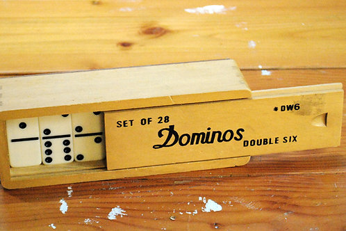 Vintage Dominos Set